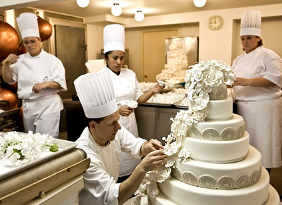 Chelsea Clintons Wedding Cake Celebrity Wedding