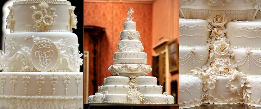 The Royal Wedding Cake Prince William And Kate Middletons